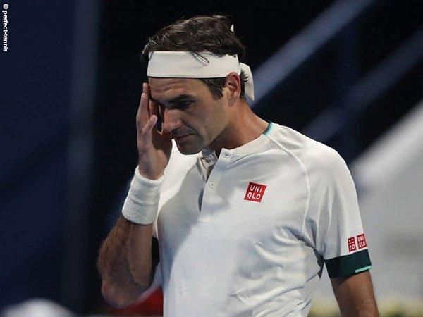Peringkat Roger Federer kembali mengalami penurunan