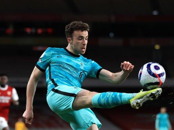 Jota Cukup Terkejut Arsenal Tidak Bisa Kuasai Bola Lawan Liverpool