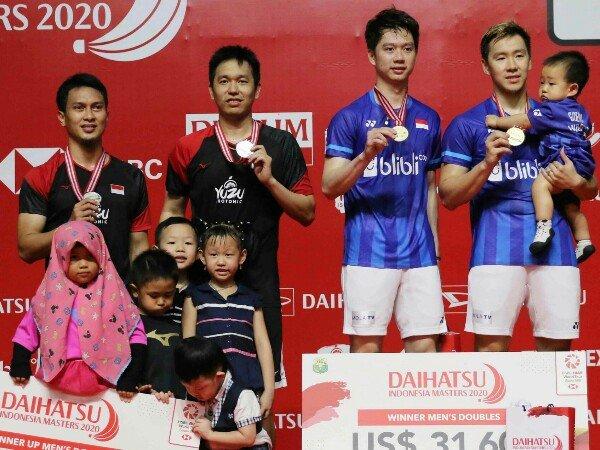 Kevin dan Marcus Fokus di Malaysia Open dan Singapore Open 2021