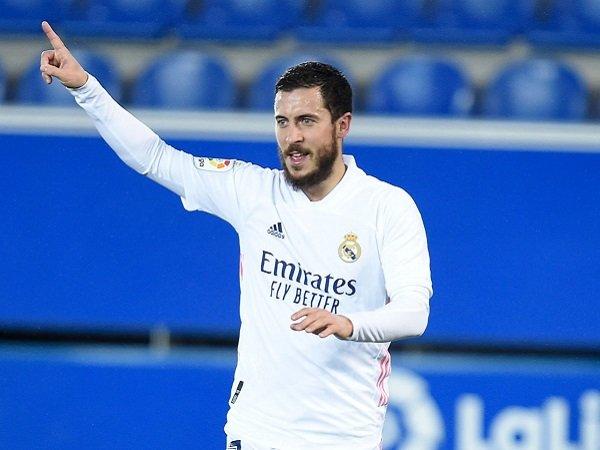 Tidak ada Eden Hazard dalam skuat Real Madrid kontra Liverpool.