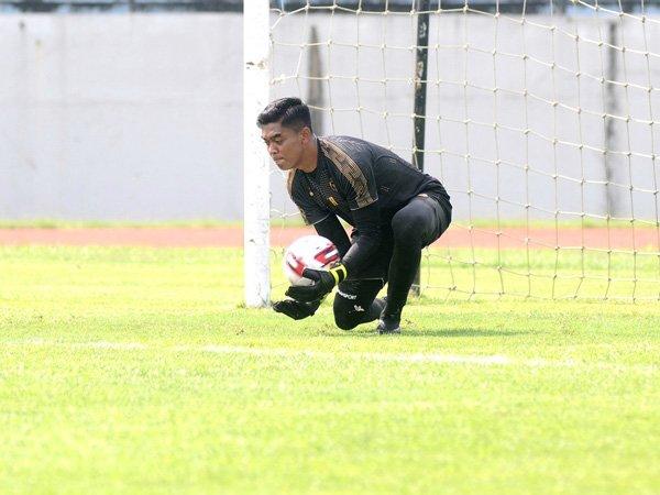 Penampilan kiper Arema FC, Teguh Amiruddin di Piala Menpora dapat rapor merah