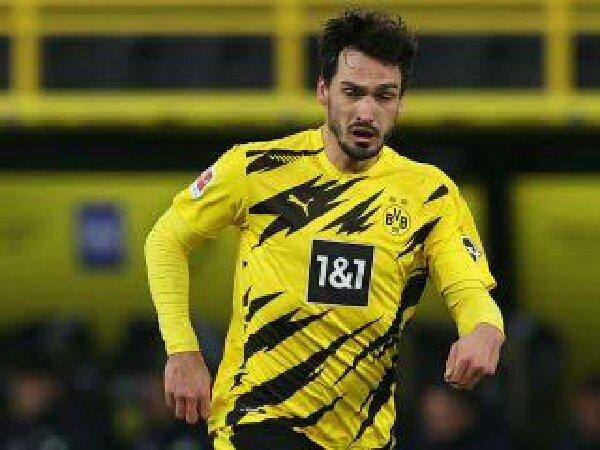 Mats Hummels kecewa dengan kekalahan Borussia Dortmund dari Man City