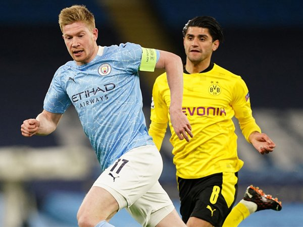 Gelandang Manchester City, Kevin De Bruyne.