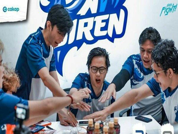 Masih Sisakan 1 Laga, Siren Esports Juara Musim Reguler MDL ID Season 3