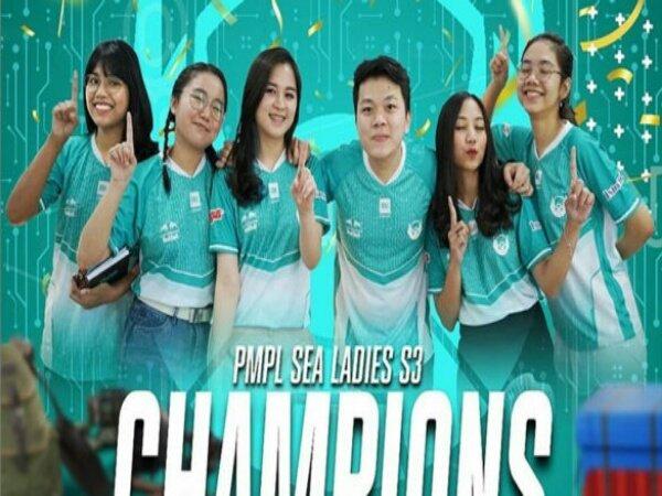Usai Juara PMPL SEA, Belletron Ace Harap Kualitas Turnamen Wanita Meningkat