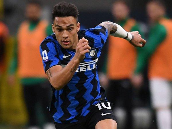 Striker Inter Milan, Lautaro Martinez.