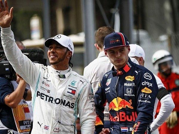Lewis Hamilton, Mercedes, Max Verstappen, Red Bull