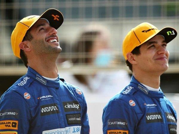 Lando Norris, Daniel Ricciardo, McLaren