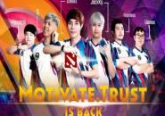 Motivate.Trust Gaming Lengkapi Roster Dota 2 usai Bawa Pulang 3 Bintangnya
