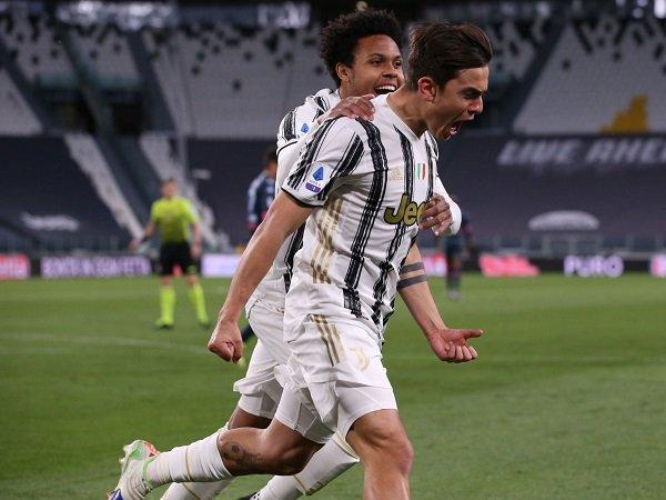 Paulo Dybala dan Cristiano Ronaldo berikan kemenangan untuk Juventus.
