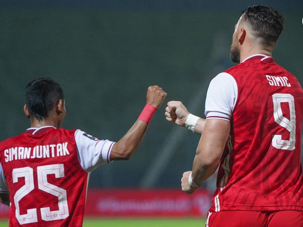 Riko Simanjuntan dan Marko Simic hantarkan Persija Jakarta ke semifinal Piala Menpora 2021