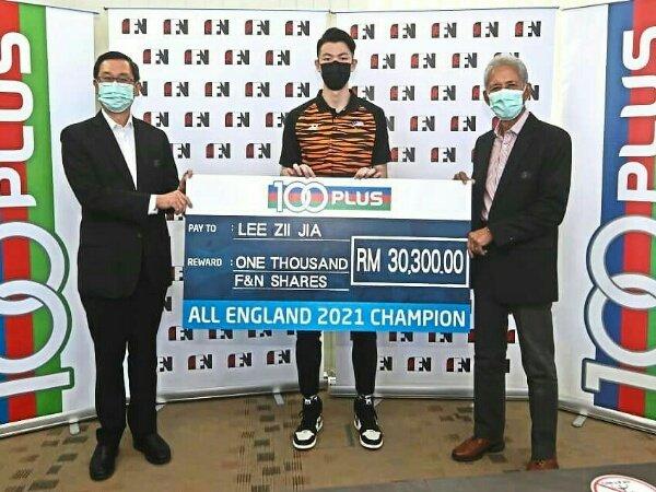 Menangi All England, Lee Zii Jia Diguyur Bonus Besar Oleh Sponsor