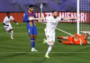 Dominasi di Babak Pertama Bikin Real Madrid Geser Barcelona