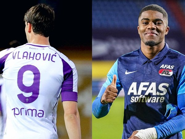 Target Milan Dusan Vlahovic dan Myron Boadu