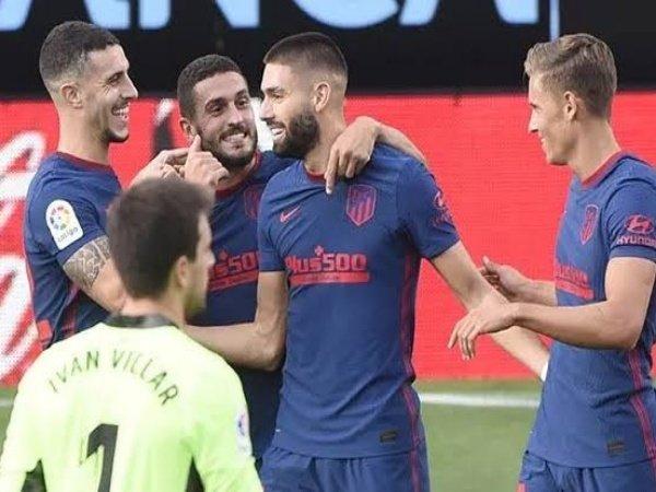 Atletico Madrid kembali ke puncak klasemen