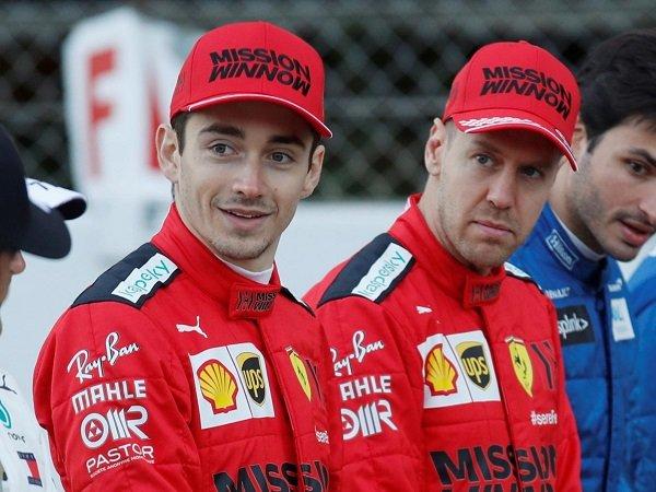 Charles Leclerc senang pernah bartandem dengan Sebastian Vettel.