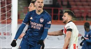 Gabriel Martinelli Bahagia Cetak Gol Pertamanya Musim Ini