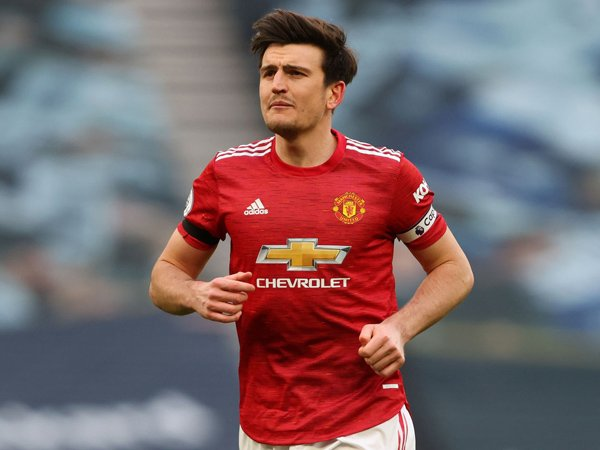 Kapten Manchester United, Harry Maguire.