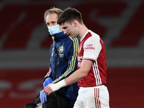 Kabar Buruk Buat Arsenal! Kieran Tierney Bisa Absen sampai Akhir Musim