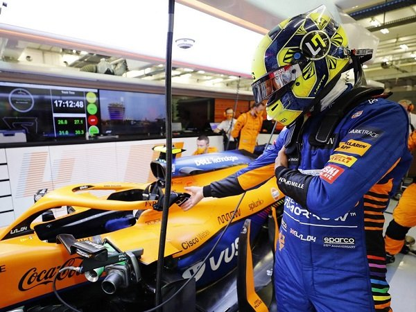 Lando Norris sebut McLaren sudah bisa bersaing dengan tim-tim papan atas lainnya.