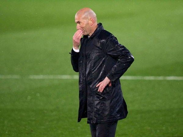 Zinedine Zidane cemaskan kondisi kebugaran para pemain Real Madrid.