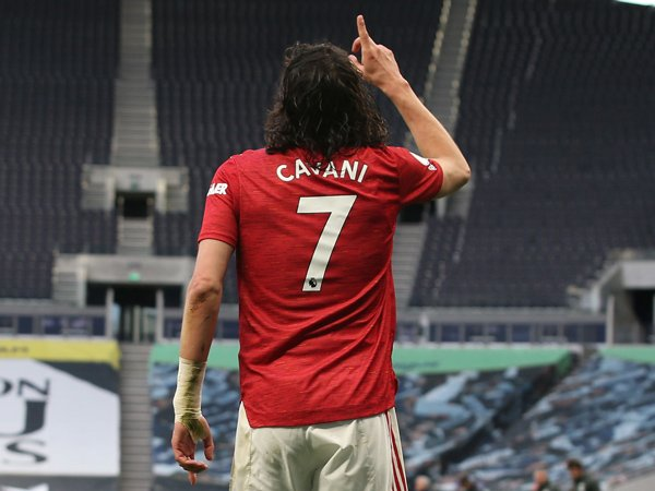 Striker Manchester United, Edinson Cavani.
