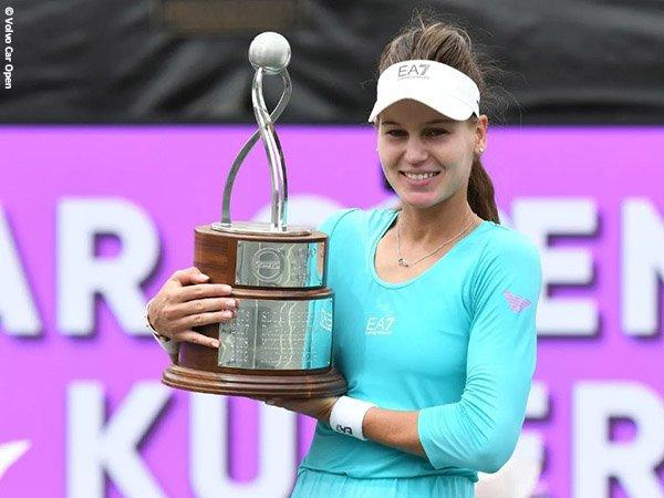 Veronika Kudermetova naik podium juara untuk kali pertama di Charleston musim 2021