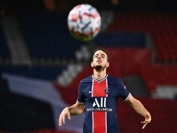 Aksi Alessandro Florenzi bersama PSG di ajang Liga Champions musim ini / via Getty Images