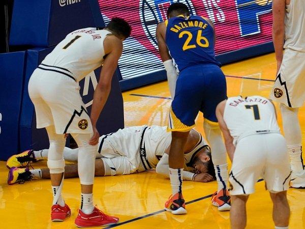 Denver Nuggets berharap agar Jamal Murray tak derita cedera lutut serius.