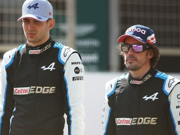 Fernando Alonso, Esteban Ocon, Alpine