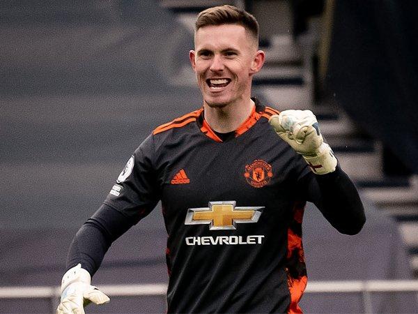 Kiper Manchester United, Dean Henderson.