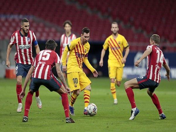 Barcelona vs Atletico Madrid resmi dimajukan
