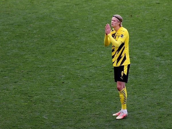 Erling Haaland / via Getty Images