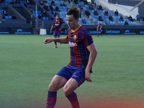 Gelandang berbakat Barcelona, Nico Gonzalez.