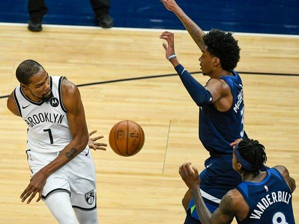 Brooklyn Nets buat malu Minnesota Timberwolves dengan skor telak.