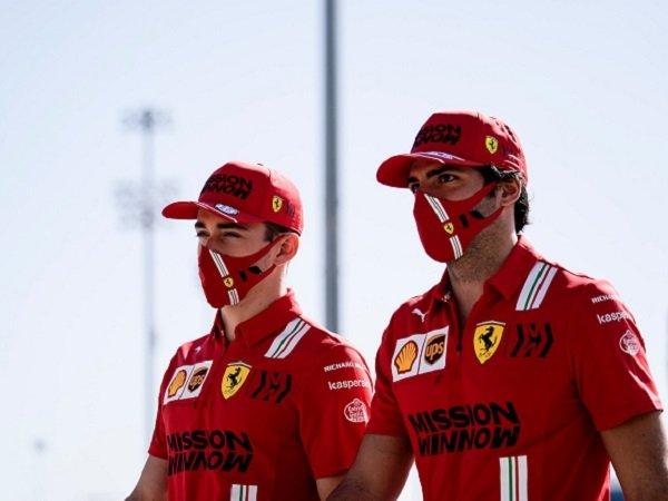 Carlos Saintz Jr. , Charles Leclerc, Ferrari