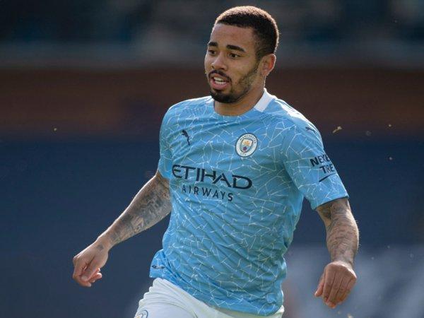 Striker Manchester City, Gabriel Jesus.