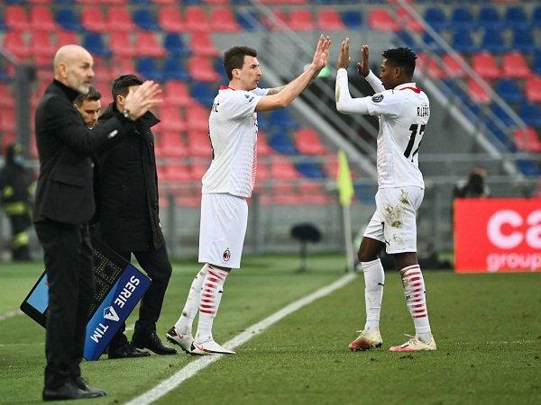 Mario Mandzukic dan Rafael Leao bersaing gantikan Zlatan Ibrahimovic