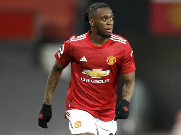Fullback Manchester United, Aaron Wan-Bissaka.