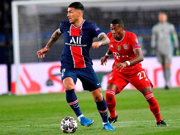 Gelandang Paris Saint-Germain, Leandro Paredes.