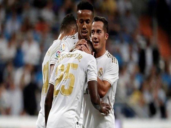 Winger Real Madrid yaitu Lucas Vazquez, dilaporkan jadi rebutan Tottenham dan Arsenal di bursa transfer musim panas mendatang / via Getty Images