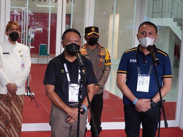 Menpora RI Zainudin Amali menyampaikan apresiasi presiden terhadap pelaksanaan Piala Menpora