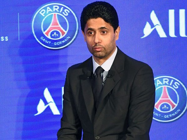 Presiden Paris Saint-Germain, Nasser Al-Khelaifi.