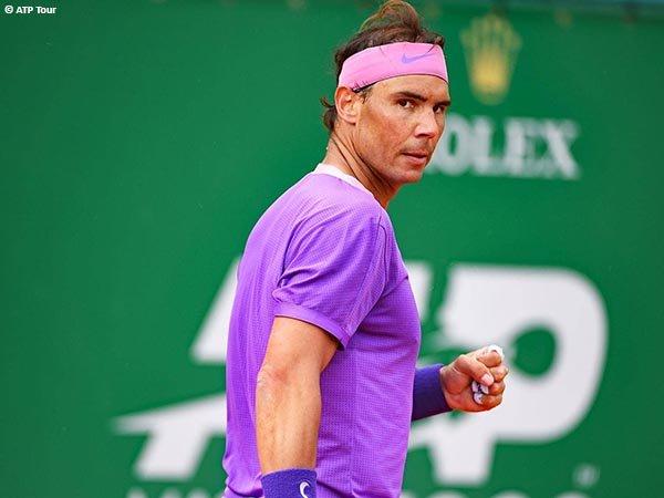 Rafael Nadal kembali ke perempatfinal Monte Carlo Open pada musim 2021