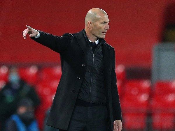 Zinedine Zidane harapkan Real Madrid menembus final Liga Champions.