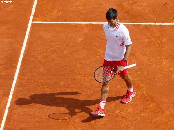 Novak Djokovic gagal melaju ke perempatfinal Monte Carlo Open 2021