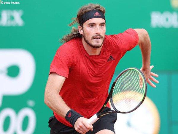 Stefanos Tsitsipas meluncur ke semifinal Monte Carlo Open 2021