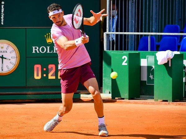 Grigor Dimitrov gagal melaju ke perempatfinal Monte Carlo Open 2021