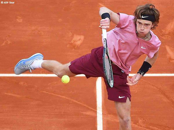 Andrey Rublev tembus semifinal Monte Carlo Open 2021