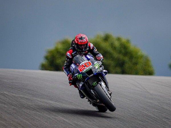 Fabio Quartararo akan start terdepan di MotoGP Portugal 2021.